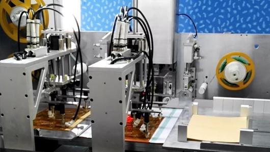 德宏FPC胶纸机视觉系统