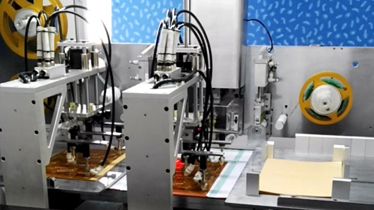 FPC胶纸机视觉系统