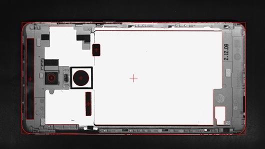 手机盖板尺寸测量